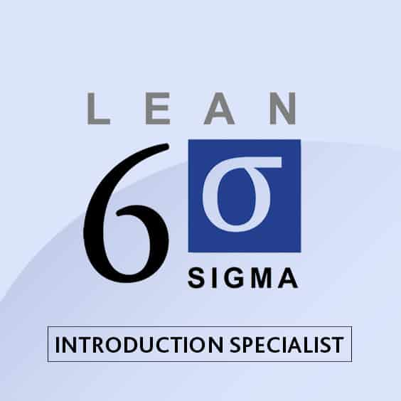 Lean Six Sigma Introduction Specialist Course