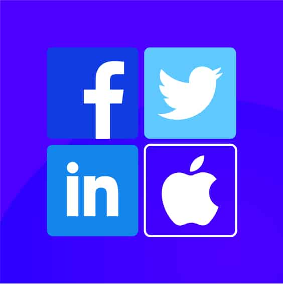 Case Studies Facebook, Twitter, LinkedIn, Apple